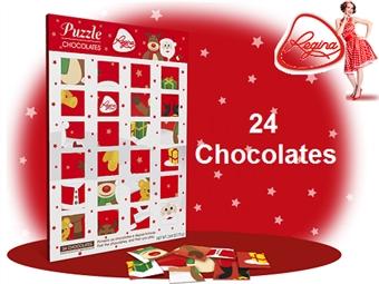 1 ou 2 Puzzles da REGINA desde 6.50€. Um jogo com 24 figuras de chocolate de leite para te deliciares! ENVIO IMEDIATO e PORTES INCLUÍDOS.