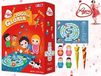 1 ou 2 Jogos da Glória da REGINA desde 7.50€. Um jogo com 8 figuras e 2 sobrinhas de chocolate de leite. ENVIO IMEDIATO e PORTES INCLUÍDOS.