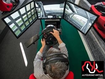 ACELERE A FUNDO com 1 ou 2 Horas de Condução Desportiva em Lisboa, no Maior Autódromo Virtual da Península Ibérica desde 7€.