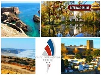 Caldas Internacional Hotel: Até 3 Noites. Meia Pensão nas Caldas da Rainha desde 25€. Oportunidade de Ouro para visitar Costa de Prata. RESERVA ONLINE