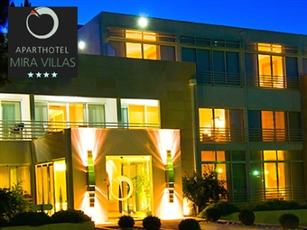 MIRAVILLAS HOTEL 4*: Até 2 Noites com Tratamento VIP, Bicicletas e Court de Ténis. A poucos minutos da Praia de Mira desde 30€. Relaxe junto ao Mar.