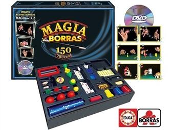 Magia Borras de 150 Truques com Luz e DVD por 28.50€. Torna-te num mestre de magia de luzes com truques mais espectaculares! VER VIDEO. PORTES INCLUÍDOS.