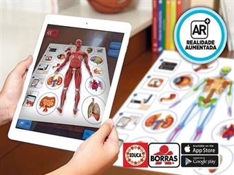 Corpo Humano com APP em Português por 23.50€. Um jogo interactivo que permite explorar o corpo humano como nunca! VEJA O VIDEO. PORTES INCLUÍDOS.