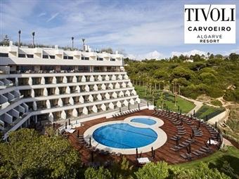Tivoli Carvoeiro Resort 5*: 1 Noite de Alojamento com Pequeno-Almoço por 47€. Desfrute do Sol Algarvio e relaxe!