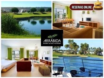 Arrábida Resort & Golf Academy 4*: Até 5 Noites em Estúdio envolvido pela Natureza desde 29€. Perfeito para Relaxar, tudo que precisa. RESERVA ONLINE