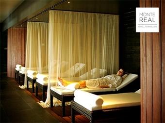 Palace Hotel Monte Real 4*: Até 3 Noites com Pequeno-almoço, Acesso a Circuito de Spa e Massagens desde 77.50€. Um programa muito relaxante.
