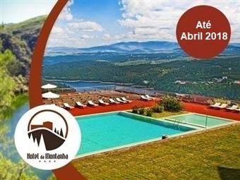 Hotel da Montanha 4*: Estadia de 1 a 3 Noites com Jantar, Sauna, Banho Turco, Jacuzzi, Espaço Fitness e Piscinas em Pedrogão Pequeno desde 29.50€.