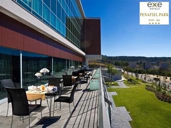 Exe Penafiel Park Hotel & Spa 4*: 1 Noite com Pequeno-almoço, Jantar Buffet, Acesso livre ao Spa e Massagem por 90€. Encante-se por Penafiel!
