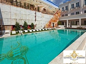 Alentejo Marmoris Hotel & Spa 5*: 2 Noites, Criança GRÁTIS, Acesso ao Spa e Jantar com Bebidas Incluídas por 195€. Na histórica Vila Viçosa!