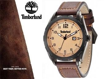 Relógio de Pulso TIMBERLAND Newmarket Brown por 75€. O presente ideal para o Homem que gosta da Natureza. ENTREGA: 48H. PORTES INCLUÍDOS.