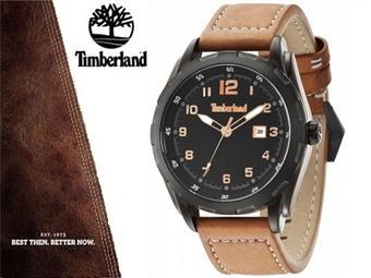 Relógio de Pulso TIMBERLAND Newmarket Brown Black por 65€. O presente ideal para o Homem que gosta da Natureza. ENTREGA: 48H. PORTES INCLUÍDOS.