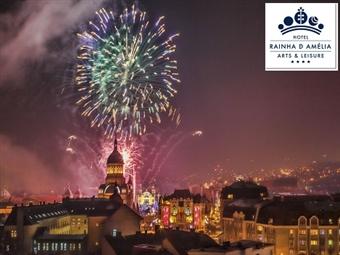 Réveillon no Hotel Rainha D. Amélia Arts & Leisure 4*: Faça a Festa em Castelo Branco até 3 noites com Jantar, Música ao vivo e Almoço desde 185€.