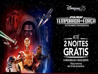 DISNEYLAND PARIS 2018: Disney Hotel Santa Fé 4 Noites pelo preço de 2 com Entrada Diária nos Parques. CRIANÇA GRÁTIS desde 301€. A Temporada da Força!