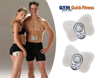 Eletroestimulador GYMFORM QUICK FITNESS PLUS: Tonifique todos os Músculos do Corpo e Mantenha a Forma por 13.90€. Leve e poderoso! PORTES INCLUÍDOS.