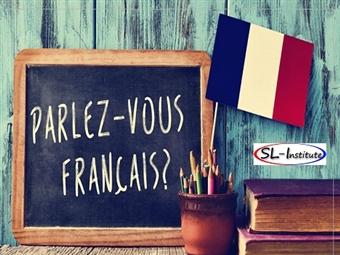 Curso de FRANCÊS Online para Principiantes de 55 horas por APENAS 9€ com Certificado da SL-Institute. Aprenda a Língua que soa a romantismo!