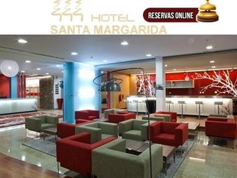 Hotel Santa Margarida 4*: 1 ou 2 Noites com Jantar & SPA junto à Ribeira de Oleiros desde 27.50€. Perfeito para uma escapada em família.