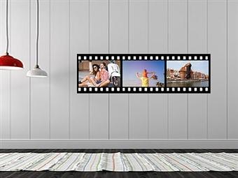Película de Filme com 3, 4 ou 5 Fotos de 20x30cm em Vinil Autocolante Adesivo Decorativo para Superfícies Lisas desde 24€. PORTES INCLUÍDOS.