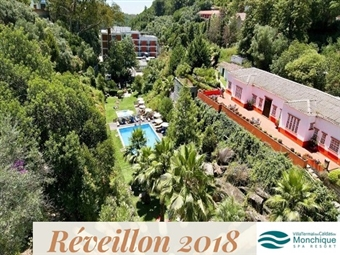 Fim-de-Ano em Monchique: Villa Termal Caldas de Monchique SPA & Resort 4*: 2 Noites na Serra Algarvia com Jantar, Brunch & Circuito SPA por 172.50€