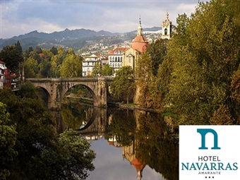 Hotel Navarras: Estadia entre a Beleza das Montanhas e o Rio Tâmega por 19€ em Amarante. Relaxe e desfrute das paisagens da região!