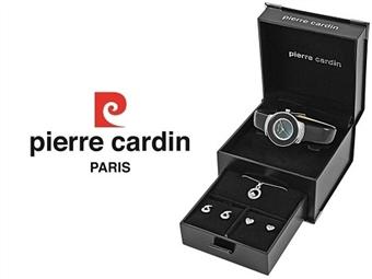 Conjunto Pierre Cardin PCX0312L03 com Relógio, Colar e 2 Pares de Brincos por 49€. ENTREGA: 48H. PORTES INCLUÍDOS.