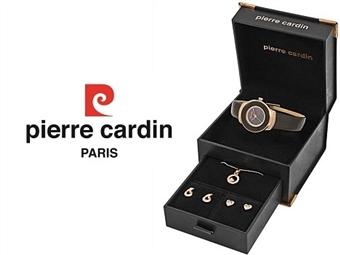 Conjunto Pierre Cardin PCX0312l04 com Relógio, Colar e 2 Pares de Brincos por 49€. ENTREGA: 48H. PORTES INCLUÍDOS.