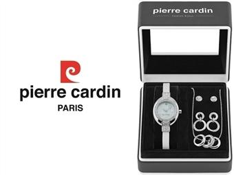 Conjunto Pierre Cardin PCX5695L242 com Relógio, Colar e 2 Pares de Brincos por 49€. ENTREGA: 48H. PORTES INCLUÍDOS.