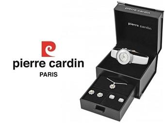 Conjunto Pierre Cardin PCX0312l01 com Relógio, Colar e 2 Pares de Brincos por 49€. ENTREGA: 48H. PORTES INCLUÍDOS.