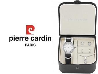 Conjunto Pierre Cardin PCX4374L186 com Relógio, Colar e 2 Pares de Brincos por 49€. ENTREGA: 48H. PORTES INCLUÍDOS.