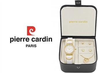 Conjunto Pierre Cardin PCX4377L189 com Relógio, Colar e 2 Pares de Brincos por 49€. ENTREGA: 48H. PORTES INCLUÍDOS.