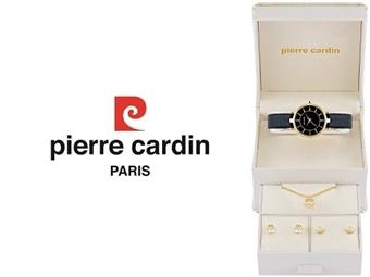 Conjunto Pierre Cardin PCX5589l236 com Relógio, Colar e 2 Pares de Brincos por 49€. ENTREGA: 48H. PORTES INCLUÍDOS.