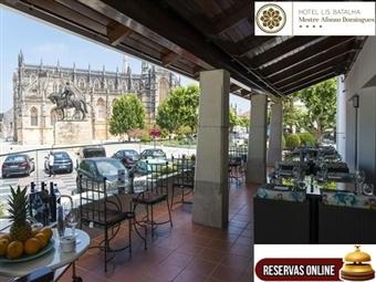 Hotel Lis Batalha Mestre Afonso Domingues 4*: Estadia no Oeste com Pequeno-Almoço, Jantar e Entrada no Mosteiro da Batalha por 37€. Escapada Cultural.