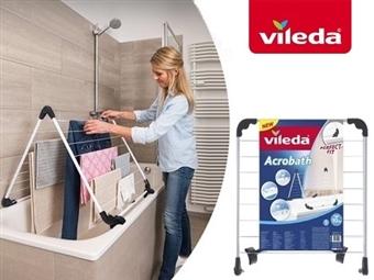 Estendal Acrobath da VILEDA. O estendal ideal para colocar na banheira por 19€. PORTES INCLUIDOS.