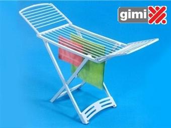 Estendal Zaffiro da GIMI com rodas e para uso exterior ou interior por 23€. Permite estender até 20 m de roupa. PORTES INCLUIDOS.