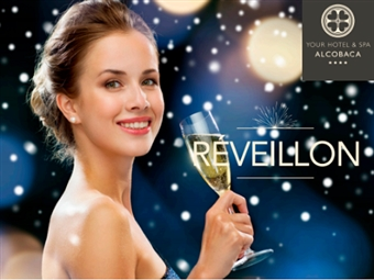 Réveillon em Alcobaça no Charmoso Your Hotel & Spa 4*: 2 Noites com Circuito SPA, Massagem, Jantar de Gala, Animação, Ceia e Brunch desde 325€.