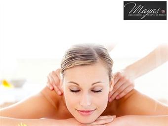 Massagem de Relaxamento ao Corpo Inteiro por 9€ no Mayas Cabeleireiros & Oficinas de Beleza em Lisboa ou Miraflores. Adeus stress do dia-a-dia!