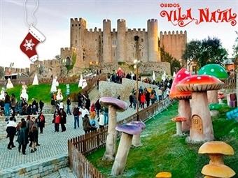 VILA NATAL & Bom Sucesso Resort 5*: Estadia em Apartamento até 6 Pessoas com Entrada na Vila de natal de Óbidos desde 100€. Viva a Magia de Natal.