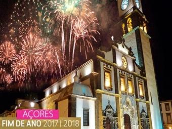 Réveillon em SÃO MIGUEL: 4 Noites com Voos de Lisboa ou Porto, Transfers e Hotel de 3*, 4* ou 5* com Jantar de Fim de Ano desde 382€.