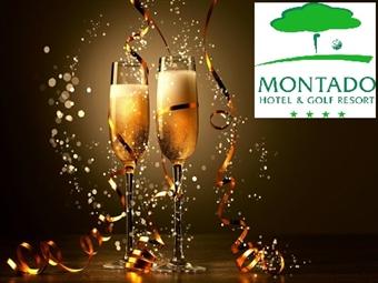 Réveillon no Montado Hotel & Golf Resort 4*: 1 ou 2 Noites com Jantar e Animação junto à Serra da Arrábida, em Palmela desde 180€ e Feliz Ano Novo.