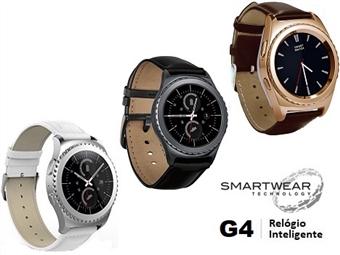 Relógio Inteligente G4 com 3 Cores à escolha. SmartWear Technology with Style por 69€. ENVIO: 48H. PORTES INCLUIDOS.