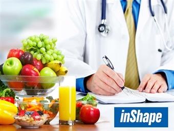 Consulta de Nutrição ONLINE e Plano Alimentar Personalizado com a inShape por 14.90€. Aprenda a alimentar-se bem sem sair de casa!