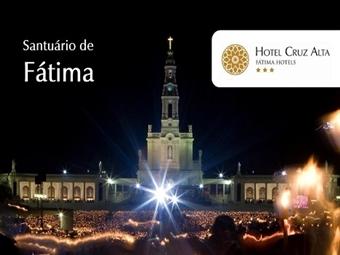 Hotel Cruz Alta: Estadia com Meia-Pensão & Entrada no Museu Interactivo O Milagre de Fátima desde 34.50€. Escapada de serenidade e conforto.