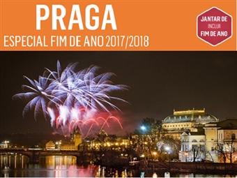 ESPECIAL PRAGA: 3 Noites com Voo TAP, Hotel 4*, Pequeno-Almoço e Jantar Especial de FIM DE ANO desde 725€. Comece o ano numa das cidades mais bonitas