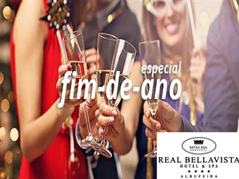 Réveillon em Albufeira: 2 ou 3 Noites no Real Bellavista Hotel & SPA com Tudo Incluído e Programa Especial para Crianças desde 218€. Divirta-se.