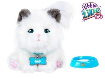 LITTLE LIVE PETS: Sleepy Kitty por 75€. O gatinho pequeno e suave que se move, faz sons e adora miminhos como um de verdade. PORTES INCLUÍDOS.