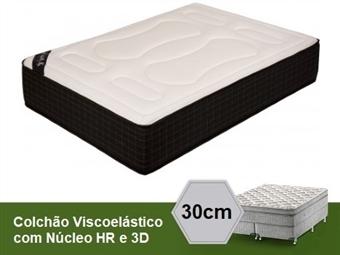 Colchão Viscoelástico Florencia 3D Imperial de Casal ou Solteiro com 30 cm de Altura e Núcleo HR desde 149€. PORTES INCLUÍDOS.