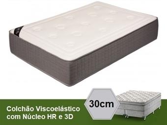 Colchão Viscoelástico Venezia 3D Premium de Casal ou Solteiro com 30 cm de Altura e Núcleo HR desde 149€. PORTES INCLUÍDOS.