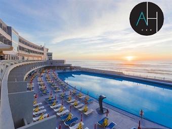 Hotel Arribas na Praia Grande em Sintra: Jante com o Oceano Atlântico como pano de fundo e durma a ouvir apenas o mar desde 45€. Vai gostar!