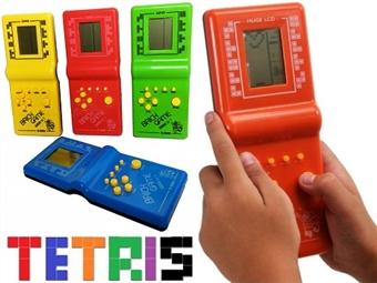 Consola Retro de Tetris, Formula 1, Arkanoid, Frogger, Snake, Space Invader, Batalha Naval, Ping-Pong e muitos mais desde 7€. PORTES INCLUÍDOS.