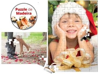 Puzzles de Madeira com Caixa de 30, 60 ou 500 peças Personalizados com as suas Fotografias ou Imagens Preferidas desde 14€. Monte o retrato da sua família!