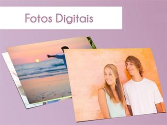 Impressão Digital de 100+8 Fotografias em Papel Couché de 250g Matte sem Brilho com Formatos de 10x15cm e 15x10cm por 4€. Guarde os melhores momentos!
